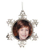 Metal Snowflake Ornament