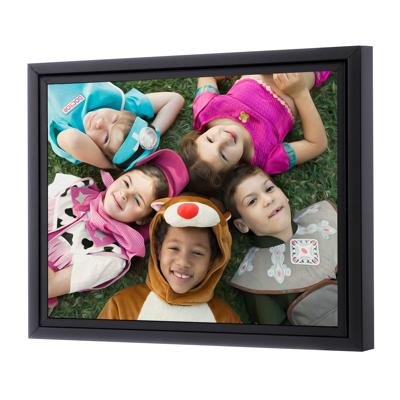20 x 24 Framed Brushstroke Gallery-Wrapped Canvas