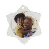 Ceramic Snowflake Ornament