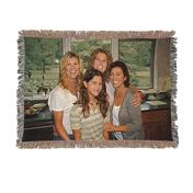 37 x 52 Mini Throw Woven Blanket