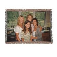 Mini Throw Woven Blanket 37x52