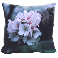 18 x 18 Decorative Photo Pillow with Zipper