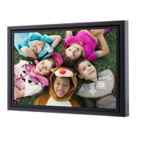 11 x 14 Framed Brushstroke Gallery-Wrapped Canvas