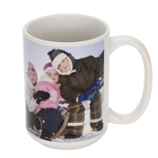 15 oz Ceramic Photo Mug