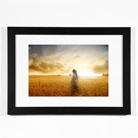 Black Horizontal 8x12 Framed Print
