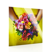 10x10 Acrylic Face Mount - Beveled Edges