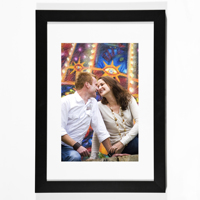 Black Vertical 8x10 Framed Print