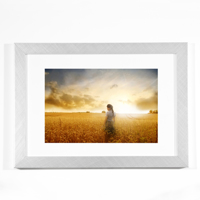 Silver Horizontal 8x10 Framed Print
