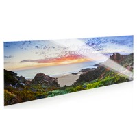 10x30 Acrylic Face Mount - Beveled Edges