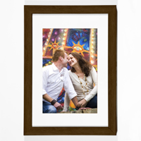 Mocha Vertical 8x10 Framed Print