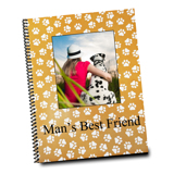 8.5 x 11 Spiral Bound Vertical Photo Book