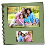 12x12 Spiral Bound Photo Book