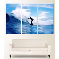 Premium 72x48 Canvas (3-24x48 Panels)