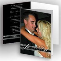5x7 Folded Graduation Card (Elegance)