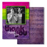 Remerciement musicale (en anglais seulement)