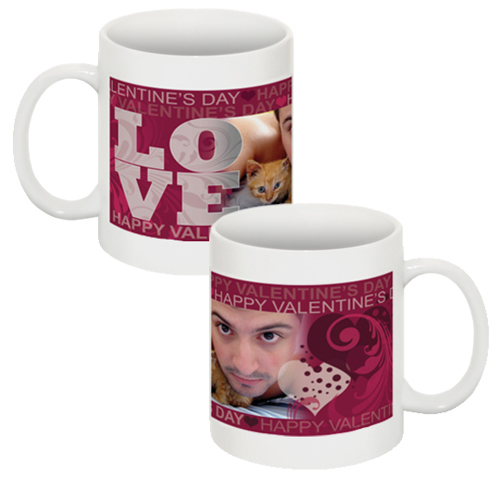 Valentines mug [#2]. 1 image + text