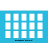 Memory Maker Template Size #03 (15)