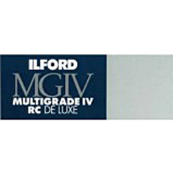 Ilford-Multigrade IV RC Deluxe 44M Pearl 8 x 10 (100 sheets) (Darkroom)-Photo enlargement paper