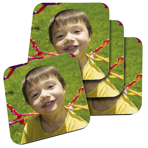 Coasters Glossy Set of 4