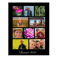 16 x 20 collage with 10 images code: CP162010B30