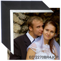 36'' x 30'' canvas wooden with frame EC 2270BR4JCP