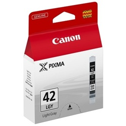 Canon-CLI-42LGY - Light Gray Ink Cartridge-Ink Cartridges