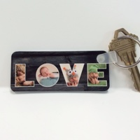 LOVE Letters Keychain