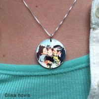 Photo Charm - 1'' Custom 1-sided