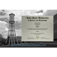 Marston Tower Metal Diploma