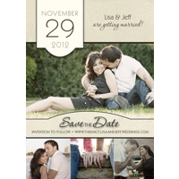 Single Save The Date