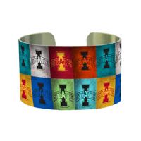 Metal Adjustable Cuff Bracelet