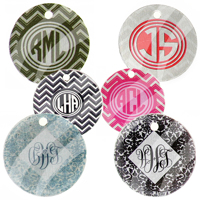 "Photo Charms -1""  Monogram, 1-sided"