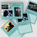 Wall Calendars (Multipage) <br> TEMPORARILY A 5 WEEK DAY SERVICE