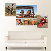 Cluster Photo Canvas Wraps
