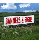 Banners and Signs