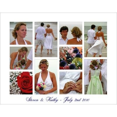 10 x 8 Glossy Photo Collage Special Price £3.49