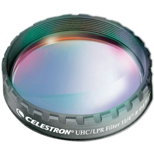 "Celestron-UHC/LPR Filter - 1.25"" #94123-Telescope Accessories"