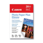 Canon-Photo Paper Plus Glossy 20 sheets 5 x 7 (borderless) PP-101-Paper
