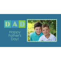 Stubbie Holder - Dad - Blue