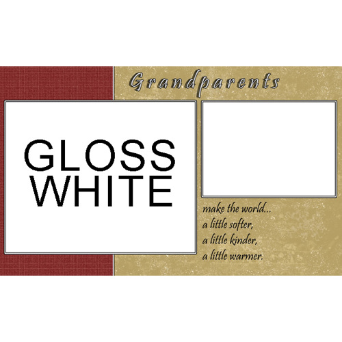 11x18: 2 Image Grandparents Personal Template