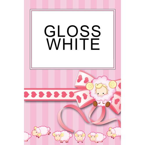 8x12: 1 Image Pink Lamb Personal Template