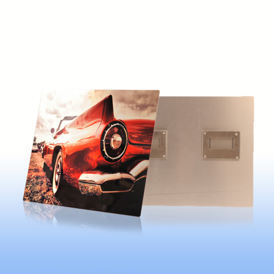 8x8 Clear Matte Metal Print