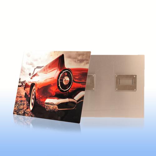 8x16 Clear Matte Metal Print