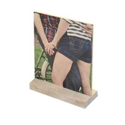 5 x 10 Wood Desktop Vertical