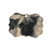 Scalloped Wood Ornament
