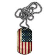 Single Side Dog Tag