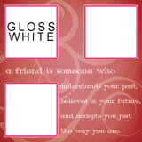 16x16: 3 Image Pink Friends Personal Template