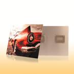28x35 White Matte Metal Print