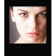 4X5 Polaroid Effect Print (Black)