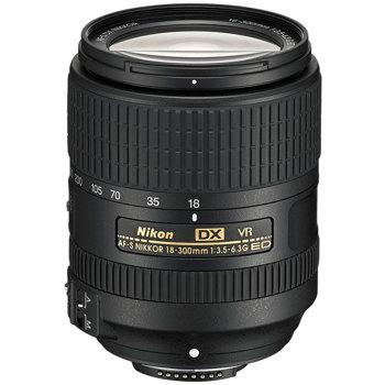 Nikon-AF-S 18-300mm DX NIKKOR f/3.5-6.3G ED VR-Lenses - SLR & Compact System